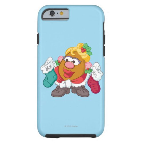 Mrs Clause Tough iPhone 6 Case