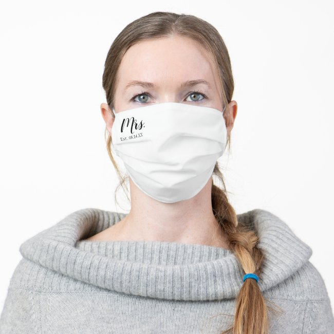 Mrs. Cloth Face Mask