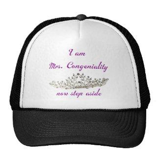 Mrs. Congenialty Trucker Hat
