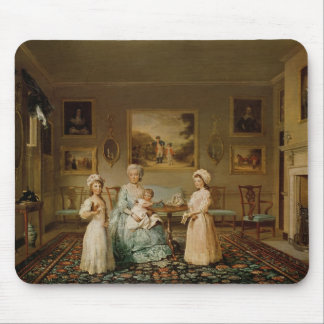 Mrs Congreve and her children Mouse Pads
