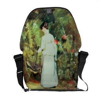 Mrs Constable in her Garden Courier Bag