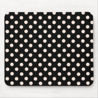 Mrs Cookies Pink Spot Polka Dot Mousepad