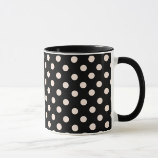 Mrs Cookies Pink Spot Polka Dot Mugs