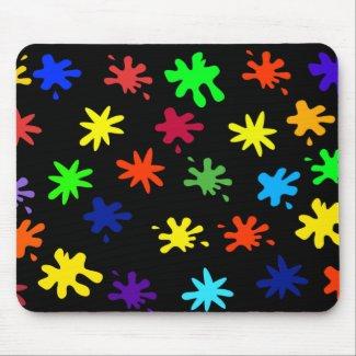 Mrs Cookies Splat Attack Mousepad