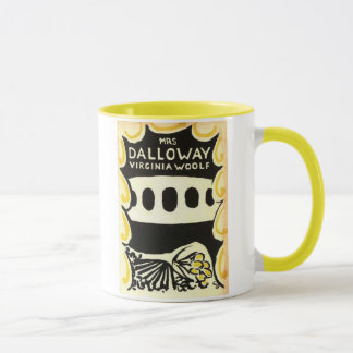 Mrs Dalloway Virginia Woolf First Edition Mug