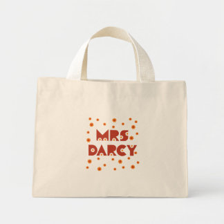 Mrs. Darcy Flower Tote Bag