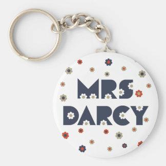 Mrs. Darcy Keychain