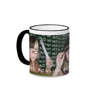 Mrs. Dowling Rocks The House! Ringer Mug