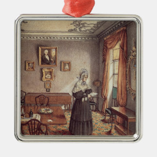Mrs Duffin's dining room at York Metal Ornament
