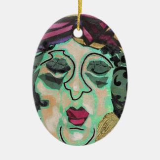 Mrs Eisenberg. Ceramic Ornament