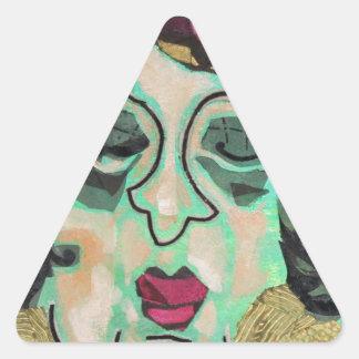 Mrs Eisenberg. Triangle Sticker