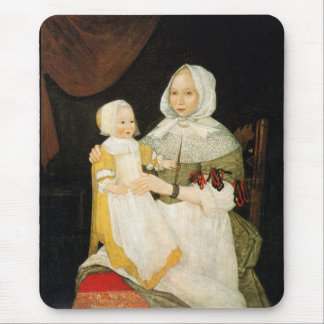 Mrs. Elizabeth Freake and Baby Mary, ca. 1671-1674 Mouse Pad