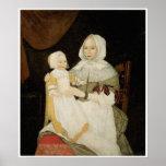 Mrs. Elizabeth Freake & Baby Mary C 1671-74 Poster