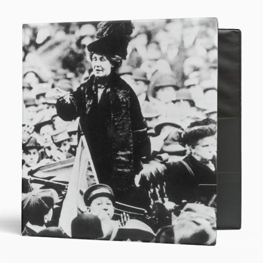 Mrs Emmeline Pankhurst  Addressing a Crowd Binder