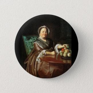 Mrs. Ezekial Goldthwait, by John Singleton Copley Pinback Button