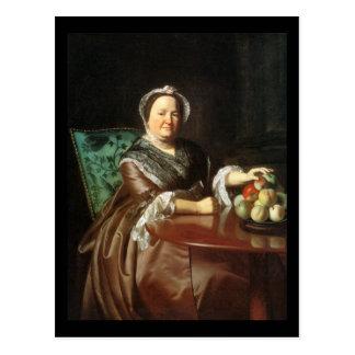 Mrs. Ezekial Goldthwait, by John Singleton Copley Postcard