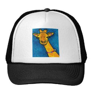 Mrs. Fancy Giraffe Trucker Hat