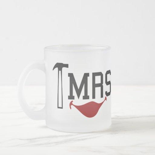 Mrs Fix It Frosted Glass Coffee Mug
