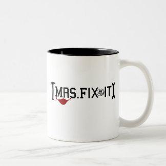 Mrs Fix It Coffee Mugs