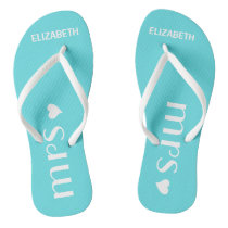 Mrs. Flip Flops Personalize Name and Color