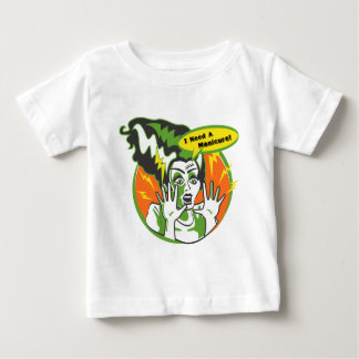 Mrs Frankenstein Needs a Manicure Baby T-Shirt