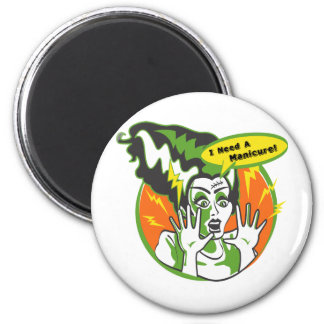 Mrs Frankenstein Needs a Manicure Fridge Magnet