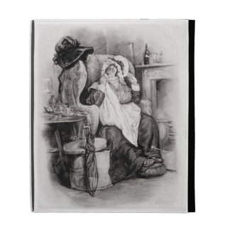 Mrs Gamp, from 'Charles Dickens: A Gossip about hi iPad Cases
