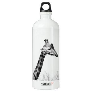 Mrs Giraffe Aluminum Water Bottle