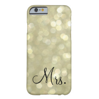 Mrs. Gold iPhone 6 Case