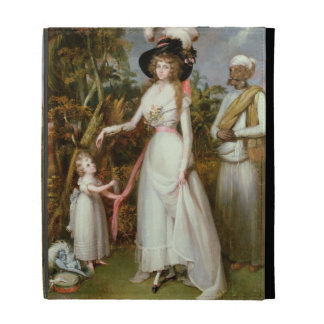 Mrs Graham of Kinross, her Daughter and a Jamadar, iPad Folio Covers