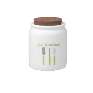 Mrs. Greenthumb Candy Jars