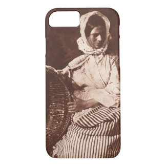 Mrs Hall, Newhaven, c.1843-47 (salt paper fr iPhone 8/7 Case