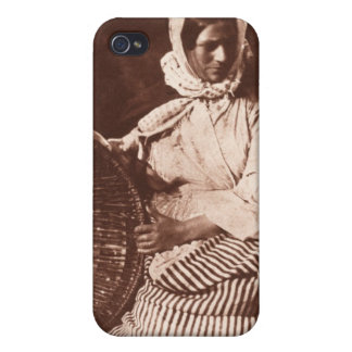 Mrs Hall, Newhaven, c.1843-47 (salt paper print fr Covers For iPhone 4