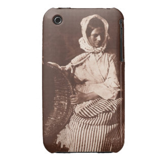 Mrs Hall, Newhaven, c.1843-47 (salt paper print fr iPhone 3 Cover