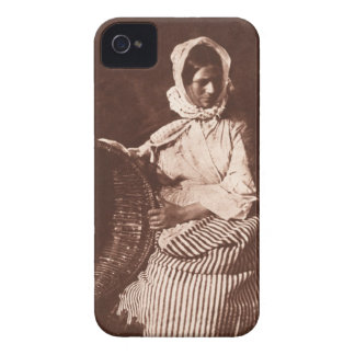 Mrs Hall, Newhaven, c.1843-47 (salt paper print fr iPhone 4 Cases
