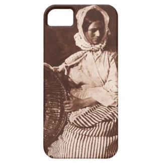 Mrs Hall, Newhaven, c.1843-47 (salt paper print fr iPhone SE/5/5s Case