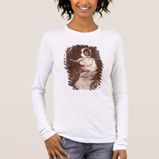 Mrs Hall, Newhaven, c.1843-47 (salt paper print fr Long Sleeve T-Shirt