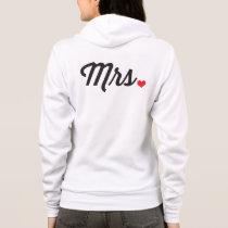 Mrs Heart Hoodie