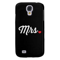 Mrs Heart Samsung Galaxy S4 Cover