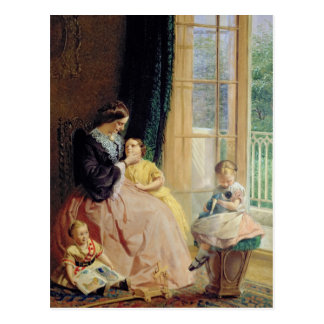 Mrs. Hicks, Mary, Rosa and Elgar Postcard