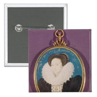 Mrs. Holland , aged 26, 1593 Pinback Button