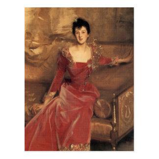 mrs. Hugh Hammersley Postcard