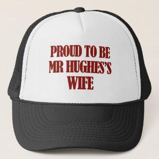 Mrs HUGHES designs Trucker Hat