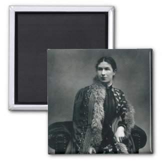 Mrs Humphry Ward, 1881 2 Inch Square Magnet