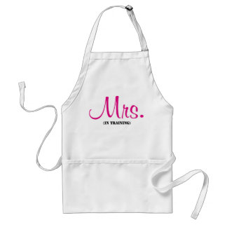 Mrs. In Training Aprons