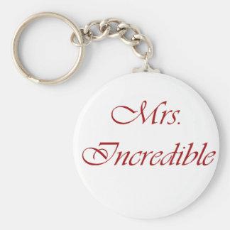 Mrs. Incredible Keychain