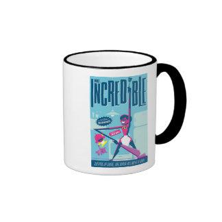 Mrs. Incredible Pop Art Disney Ringer Coffee Mug