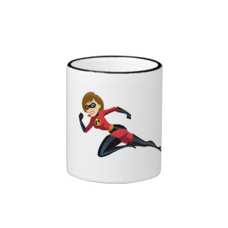 Mrs.Incredibles Disney Taza De Dos Colores