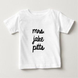 Mrs. Jake Pitts Baby T-Shirt