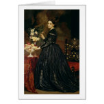 Mrs James Guthrie, c.1864-5 (oil on canvas) Greeting Card
